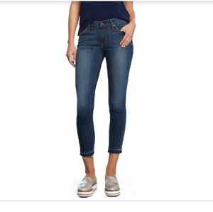 Principle Denim Honor Mid-Rise Cropped Jeans